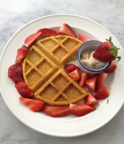 Gluten-Free Corn Waffles - The Healthy Maven