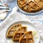 Coconut Waffles – Vegan and Gluten-Free