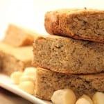 Vanilla Macadamia Nut Bars