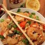 Lightened-Up Shrimp Pad Thai