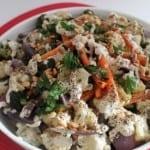 Roasted Vegetables with Tahini Sauce