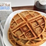Gluten-Free Cinnamon Roll Protein Waffles