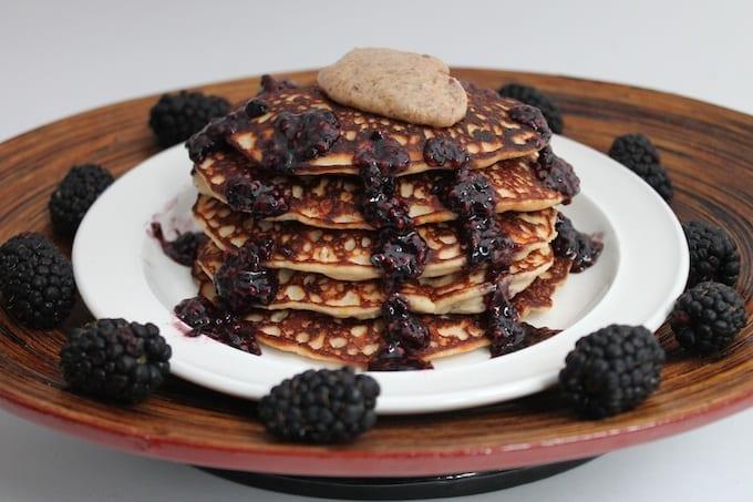 grain-free banana pancakes 4