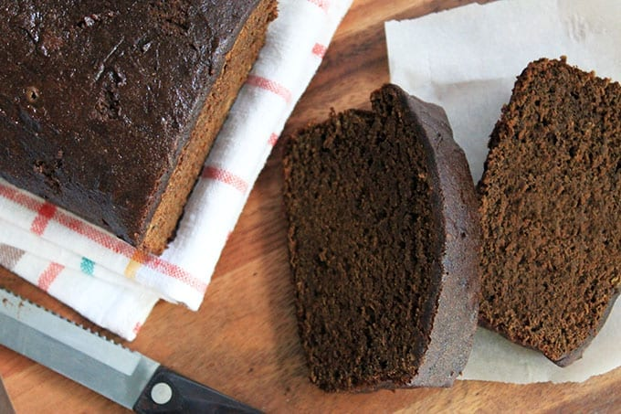 Gluten-Free Gingerbread Loaf // thehealthymaven.com