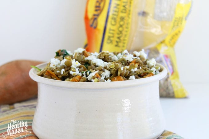 lentil and sweet potato salad 1