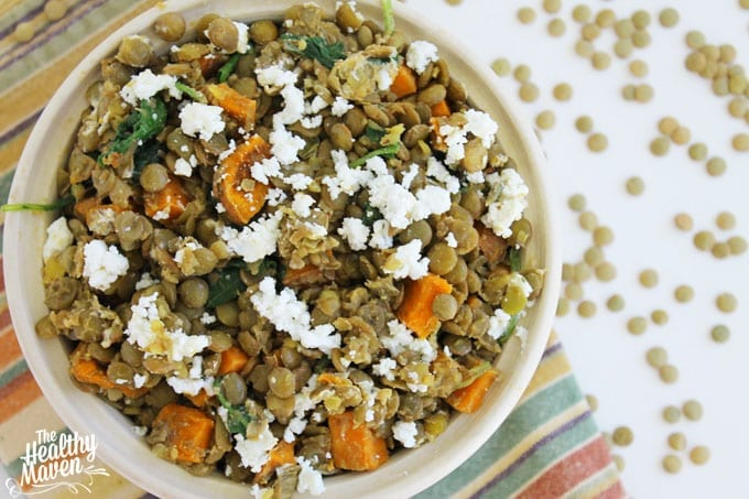 lentil and sweet potato salad 2