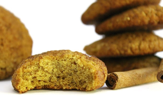 Pumpkin Snickerdoodles-Healthy Pumpkin Snickerdoodles that are also #glutenfree! // thehealthymaven.com