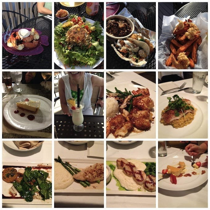 Florida Food Collage