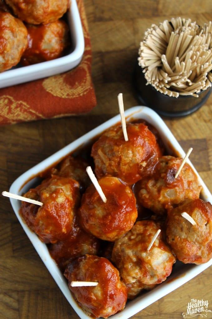 champagne turkey meatballs 2