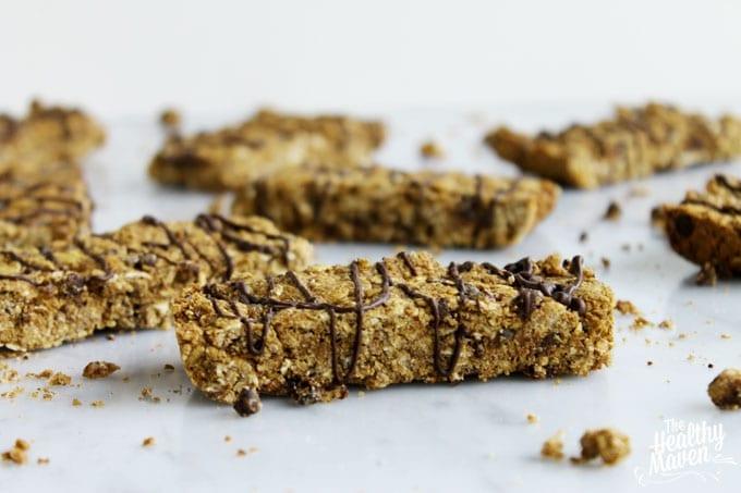 chocolate granola bars 1