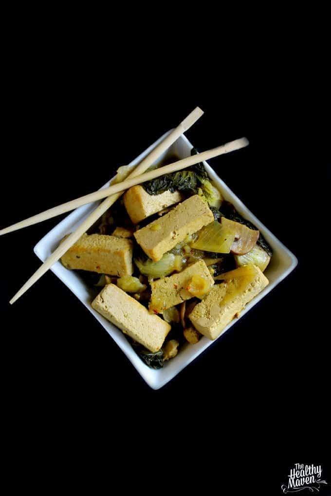 coconut basil tofu 1