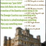 {From Left to Write} Downton ABbey Workout