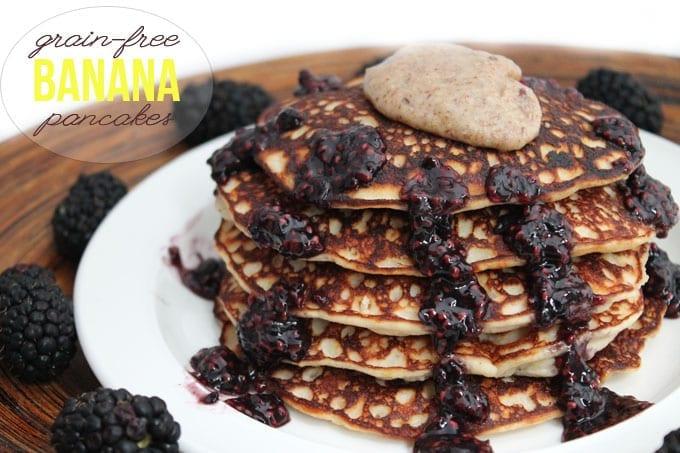 grain-free banana pancakes