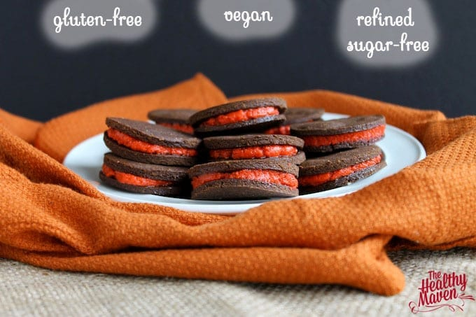 healthy peppermint oreos 2