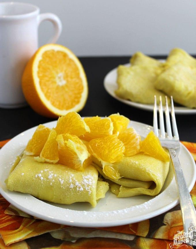 orange cheese blintzes 2