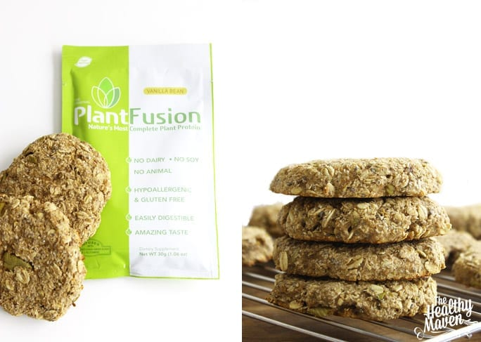Apple Cinnamon Protein Breakfast Cookies 2