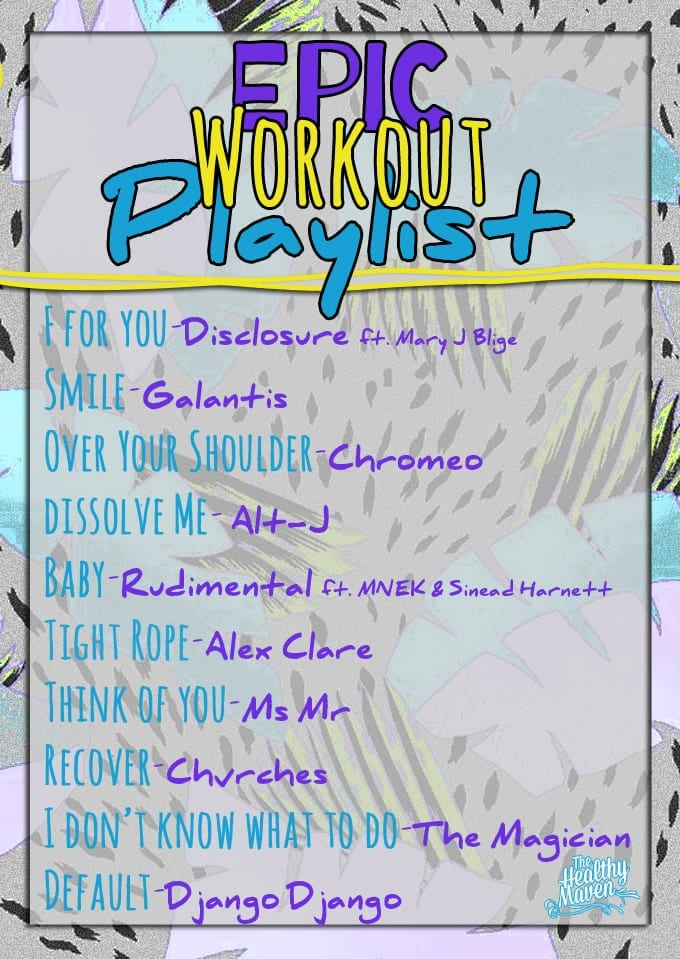 Epic workout playlist the healthy maven for 90 house music playlist