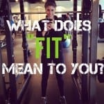 "What Does ""Fit"" Mean To You?"
