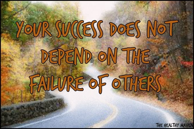 your success does not depend