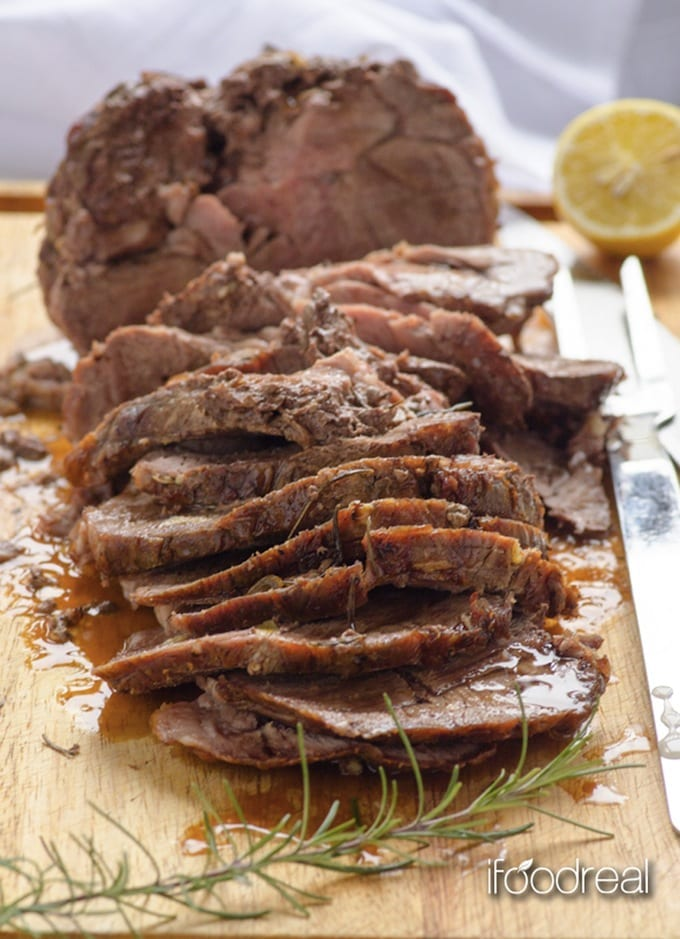 Easy Roasted Lamb Shoulder