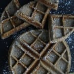 Lemon Buckwheat Waffles