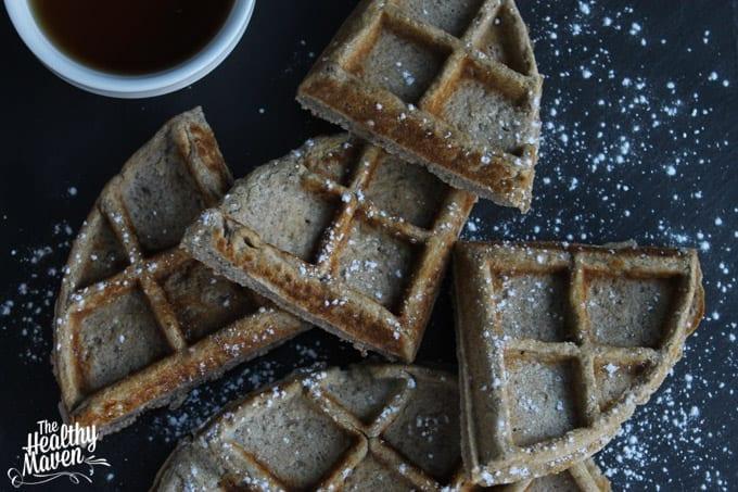 lemon buckwheat waffles 3