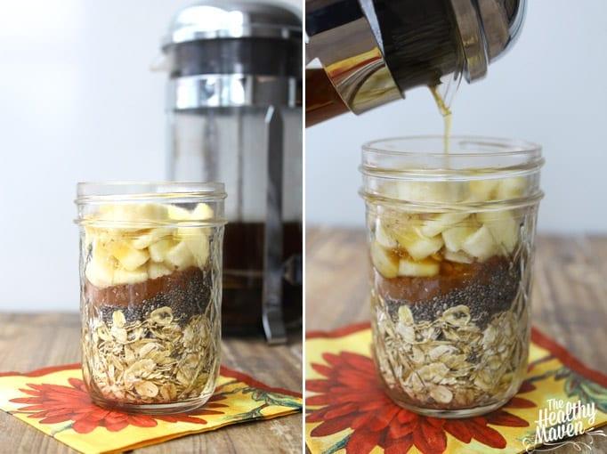 mocha overnight oats 2