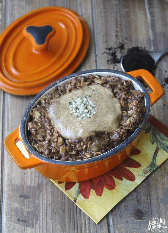 mocha overnight oats 3