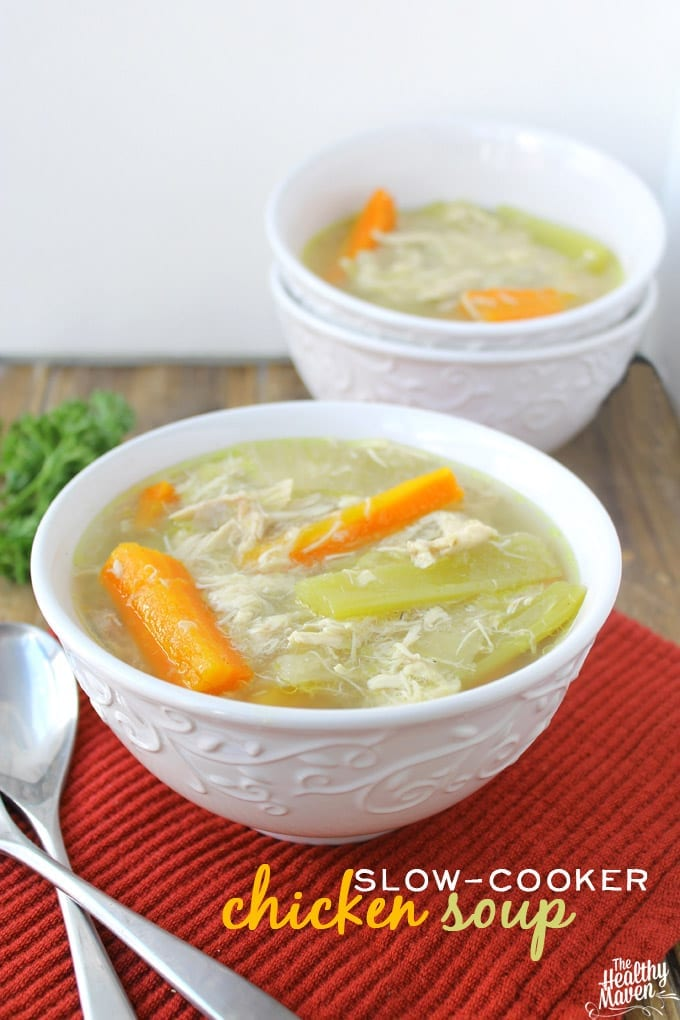 slow-cooker chicken soup