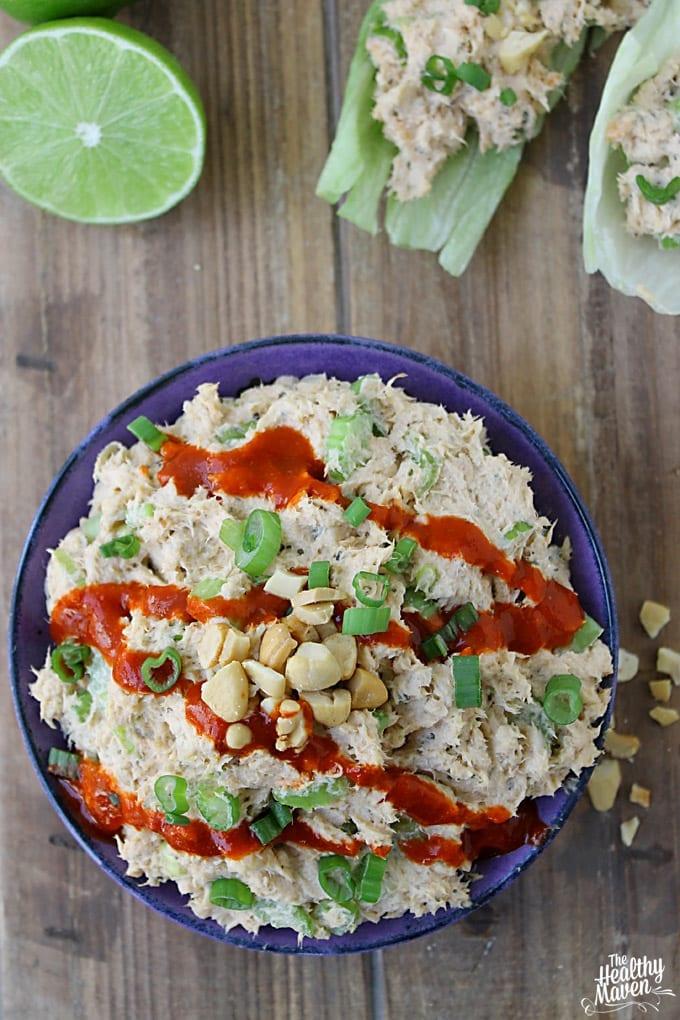 thai salmon salad 2