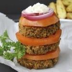 Greek Quinoa Burgers