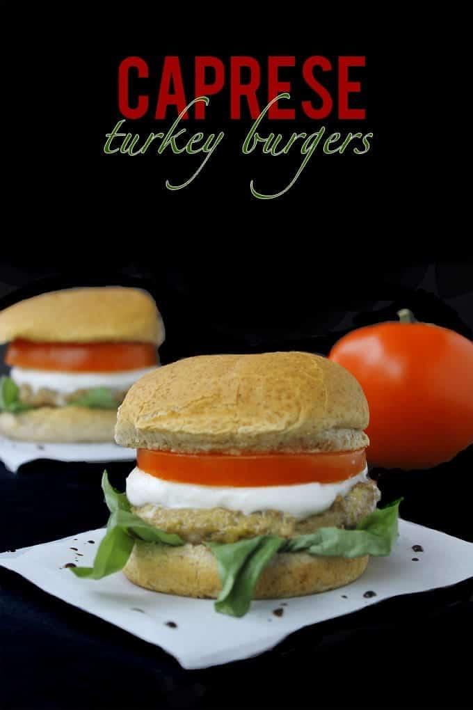 caprese turkey burgers 1