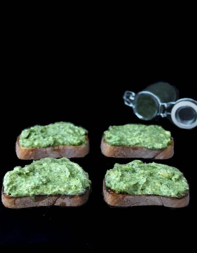 dill avocado toast 3