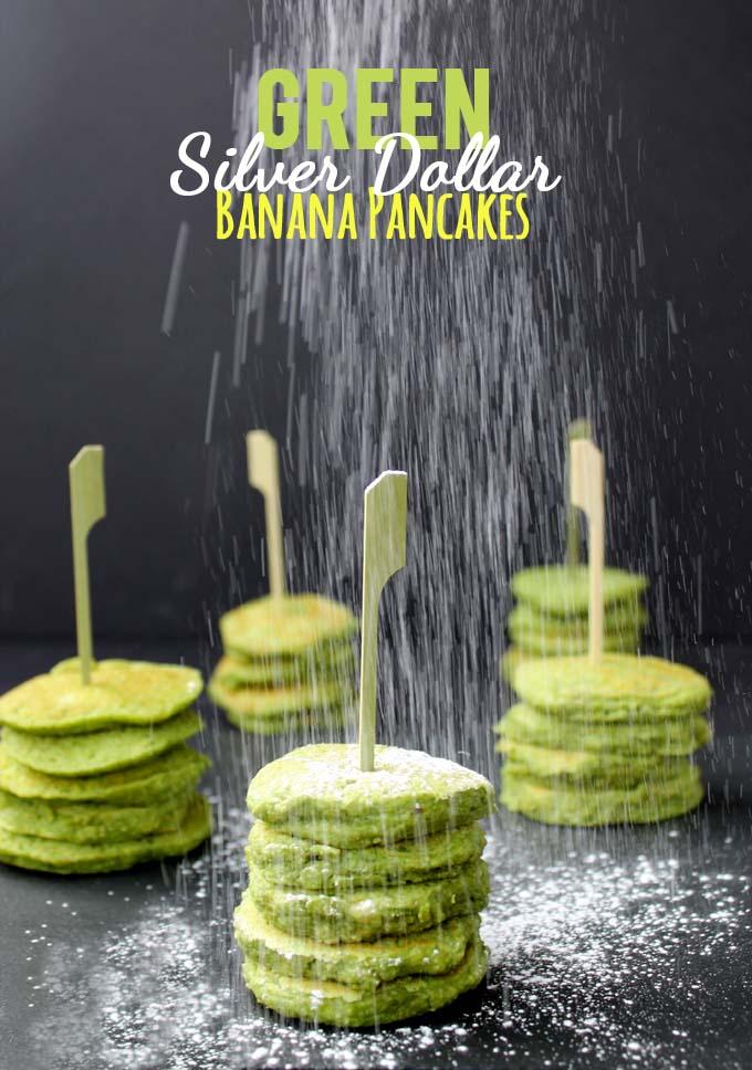 green silver dollar banana pancakes