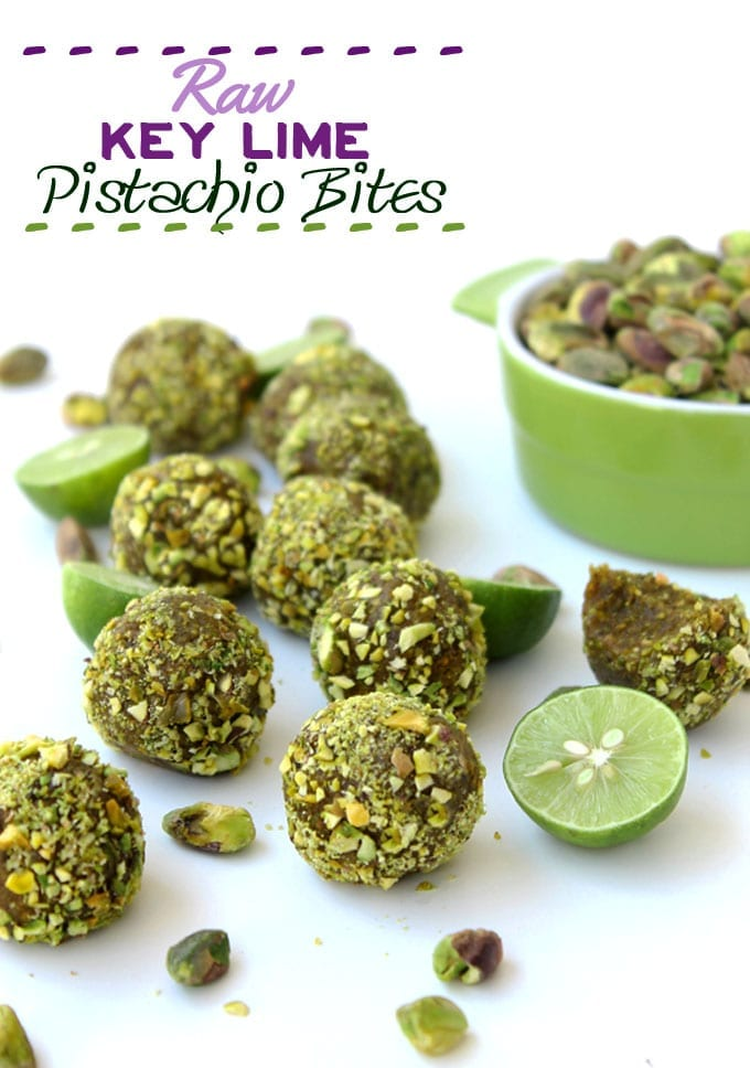 raw key lime pistachio bites (simple, healthy)