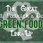 the great st. patricks day green food link-up