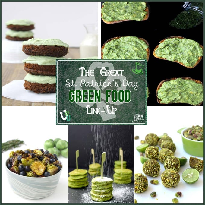 the great st. patrick's day green food link-up round-up
