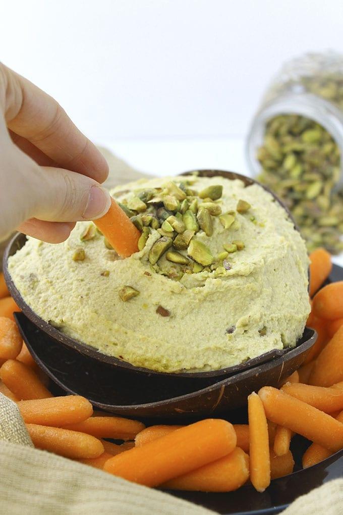 Pistachio Hummus 4