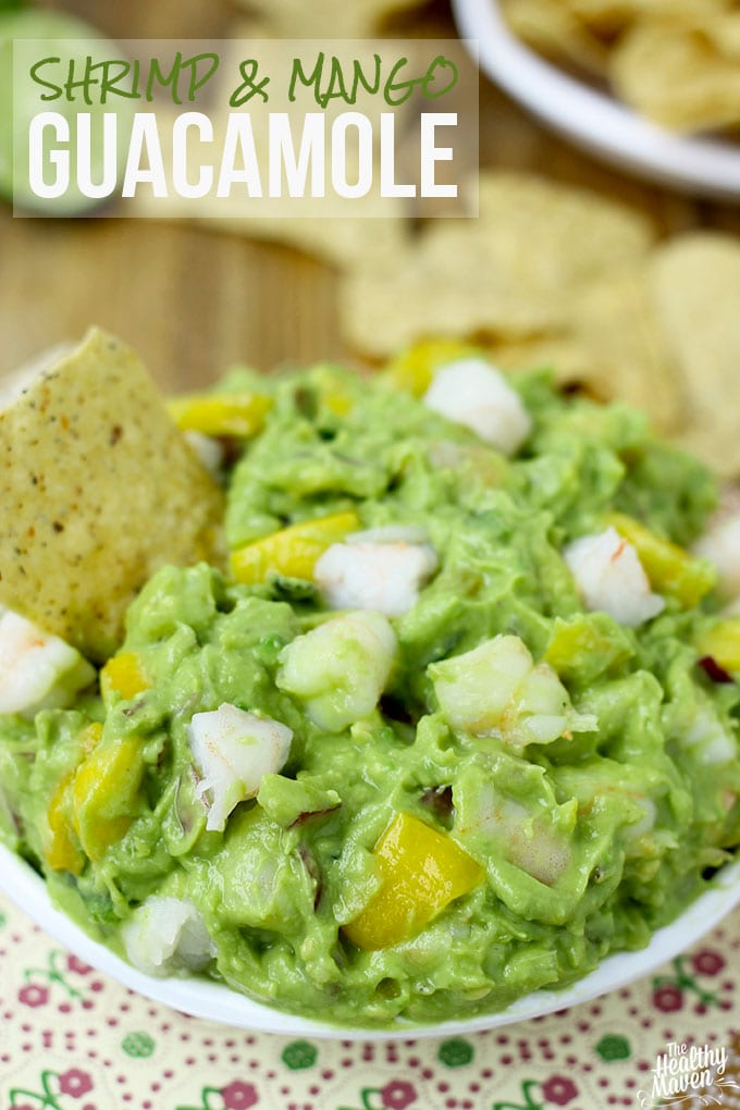 Shrimp and Mango Guacamole