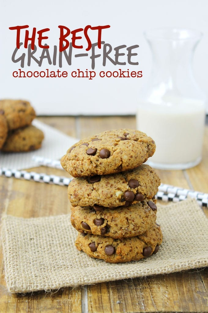 The best grain-free chocolate chip cookies