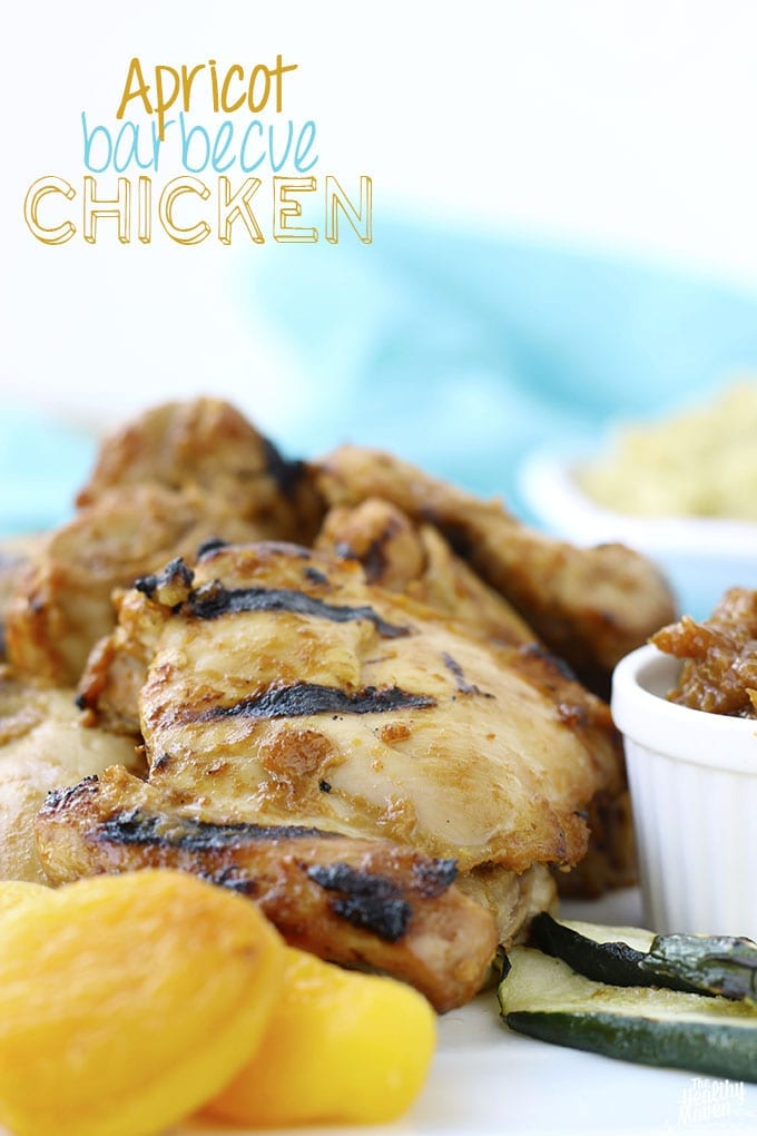 Apricot Barbecue Chicken