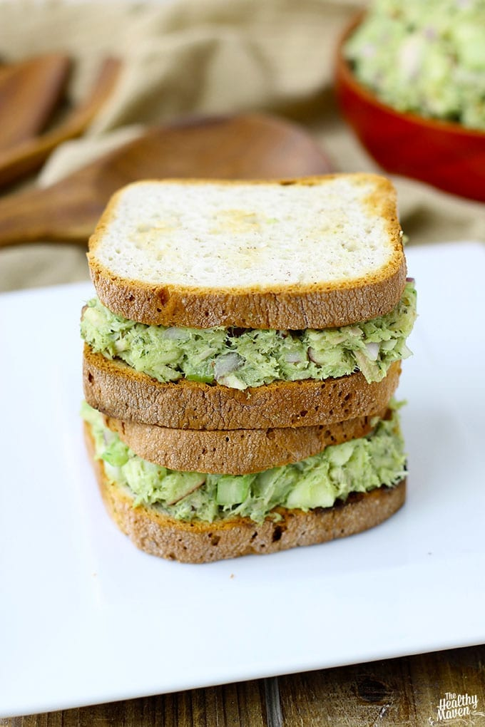 Avocado Tuna Salad 3