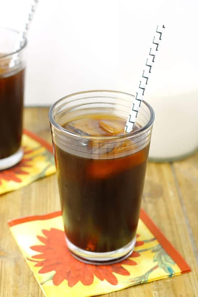 DIY Cold Brew Iced Coffee // thehealthymaven.com