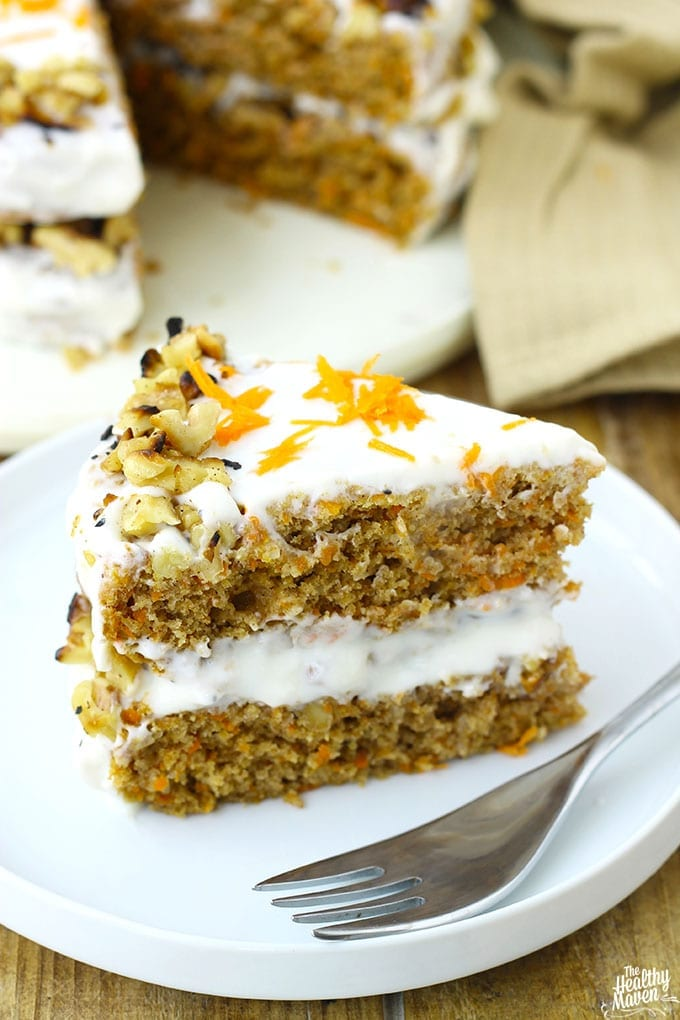 Gluten-Free Carrot Cake + A Very Special Birthday! - The Healthy Maven
