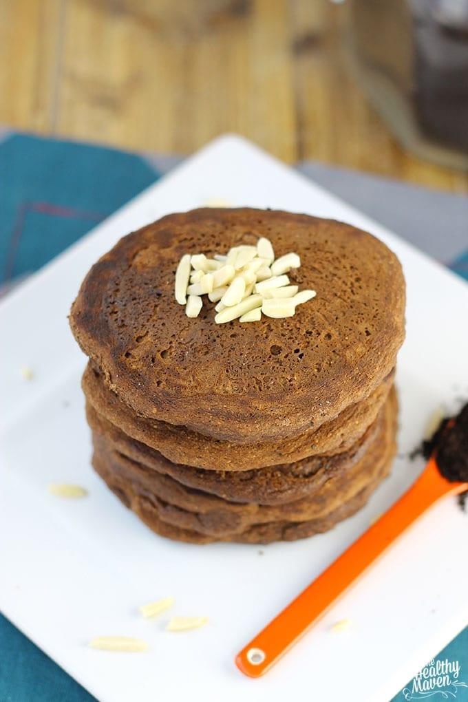 Paleo Mocha Almond Pancakes 2