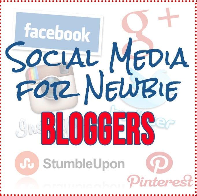 Social Media For Newbie Bloggers // thehealthymaven.com