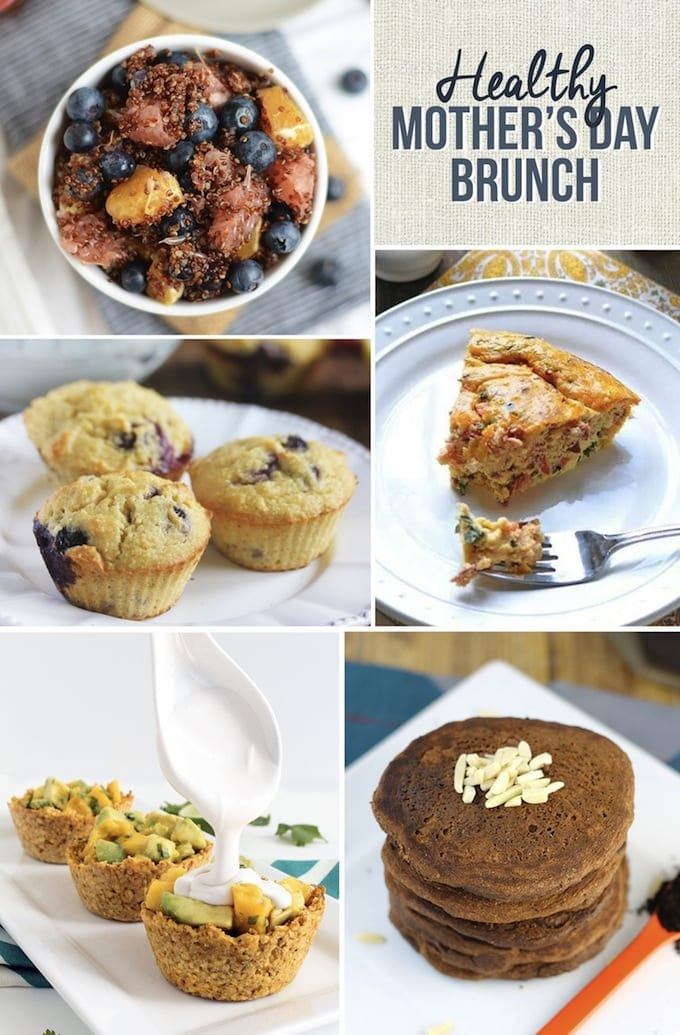 Healthy Mother's Day Brunch Ideas that Mom will love!