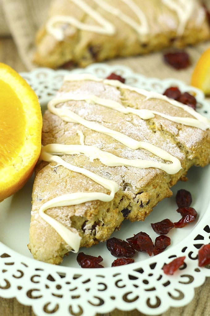 Gluten-Free Orange Cranberry Scones 2