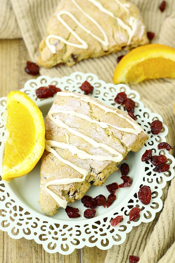Gluten-Free Orange Cranberry Scones 4
