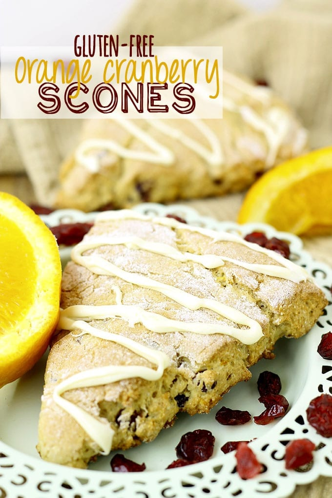 Gluten-Free Orange Cranberry Scones